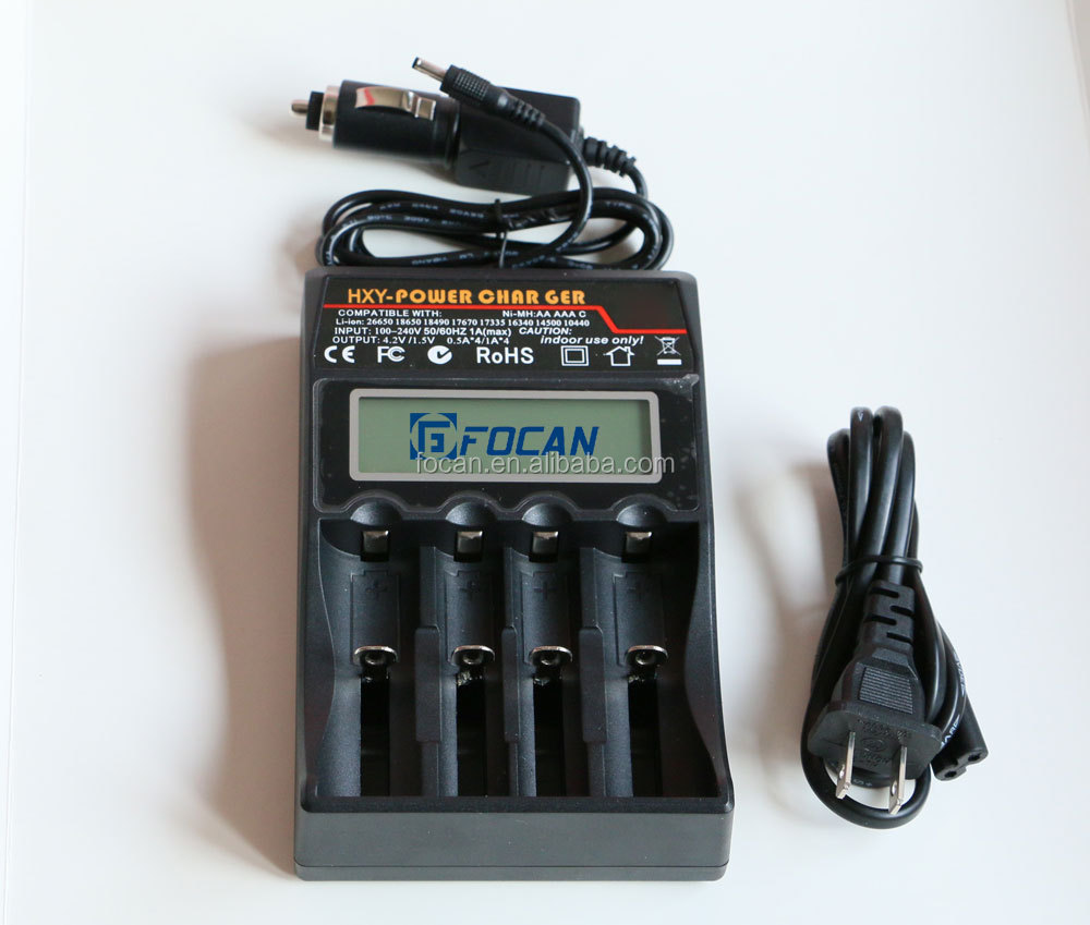 2665018650 Universal battery charger with lcd display