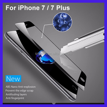 2016 New 3D full cover tempered glass for iphone 7 screen protector,screen protector for iphone 7