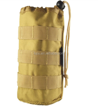 Convenient Military Molle Tactical Travel Water Bottle Pouch Carry bag Water Drinking Bladder