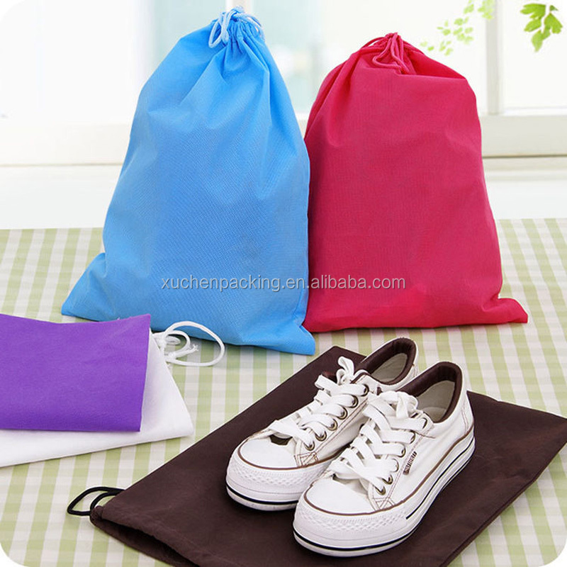 China factory supplier wholesale non woven custom shoe dust bag
