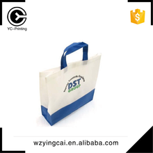 Fashion design PP custom foldable non-woven food bags with matt lamination