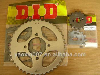 DID CD 70 press cutting sprocket with round teeths 14T and 41T for pakistan