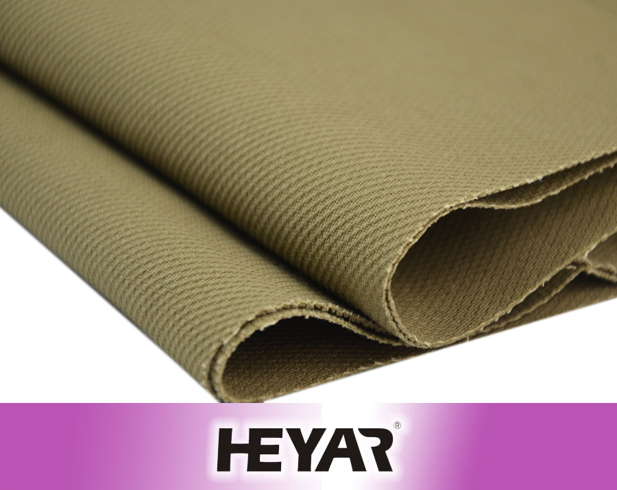 Heavyweight 100% Cotton Solid Dyed Twill Dobby Weave Fabric and Textile from China Manufacture