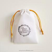 velvet drawstring jewellery pouch/velvet jewellery bag