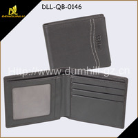 Casual pu artificial leather products, RFID brand men wallet at cheap price