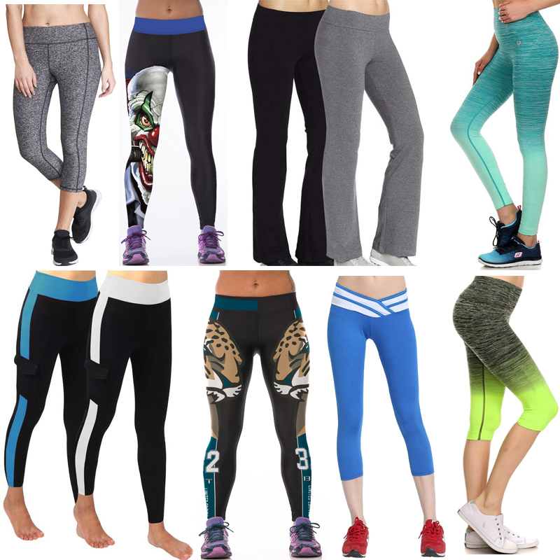 2016 New Designs Women's Tights Sport Yoga Pants Workout Fitness Leggings