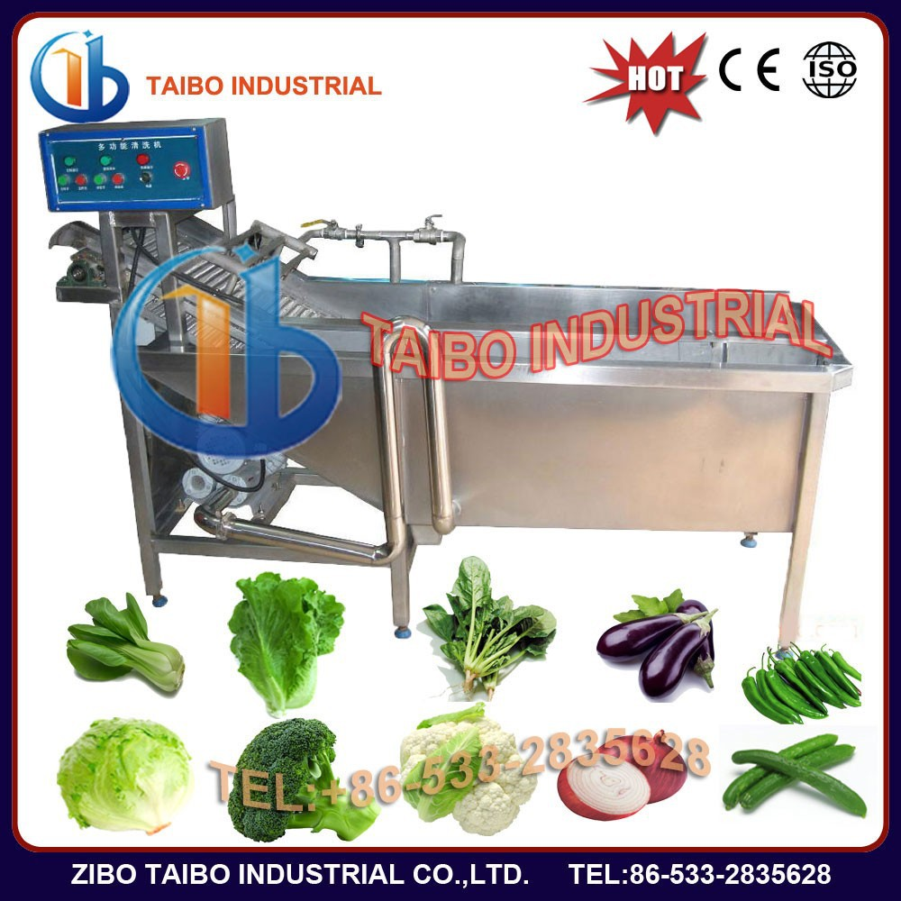 Industry used made in china vegetable wash machine for indian food machinery