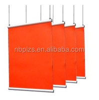 Good quality snap grip aluminum poster hanging rails