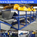 plastic bumper recycling machinery