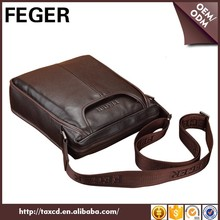 Wholesale Cow Leather Messenger Men Formal Shoulder Bag