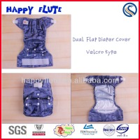 Happy Flute New style diaper cover,adjustable cover,free sample adult baby printed diaper cover