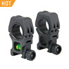 Tactical Airsfot Gun Accessory 25-30mm Riflescope optic Mount with bubble level fits 21.2 mm Rail for hunting CL24-0155