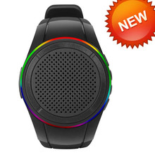 New 3W 10 Hours Play Time Wearable Watch Type with FM Radio for Running Jogging Hiking bluetooth speaker wireless