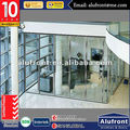 high quality aluminium glass office wall partition