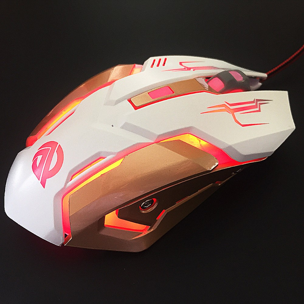 Cool Professional Gamer Mechanical 6D Wired Gaming Mouse