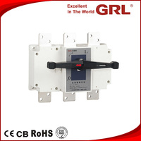 HGL 3P 4 poles 800A onload isolator load disconnect switch LBS Switch