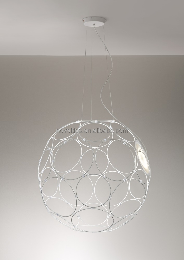 Led Big Ball Pendant Lighting Designer Replica Hanging Suspension Lamp Good Quality for Wholesales Shop