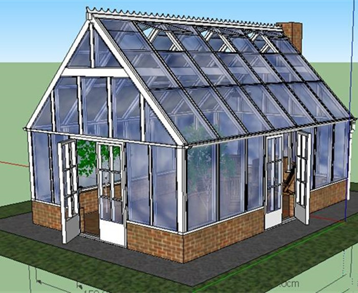 garden used greenhouse twin wall sheet for sale