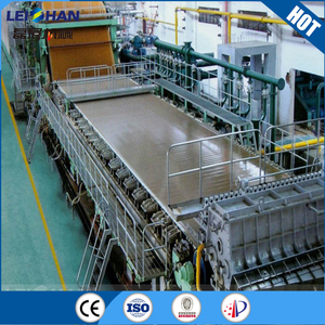 White board paper making machine,kraft paper making machine used for waste paper recycling