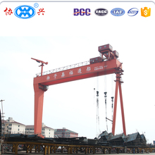 New model container semi gantry crane price