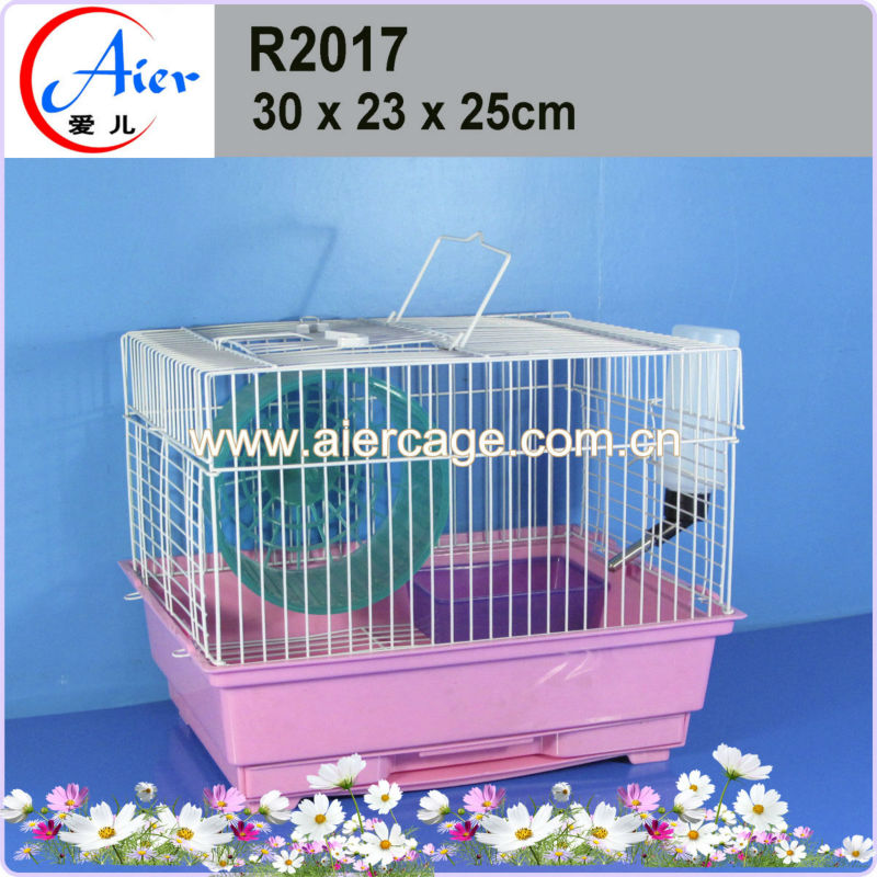Chinese wholesale factory plastic hamster cages