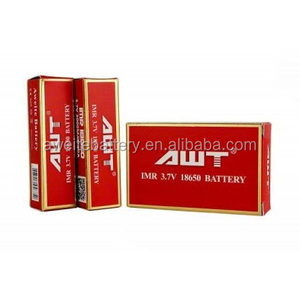 Huge stock! New 40A AWT 18650 3000mAh 3.7v rechargeable battery for totem mod