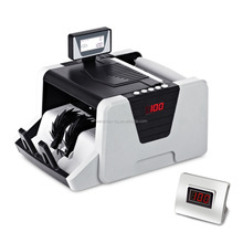 Money Counter UV+MG+MT+IR+DD Counterfeit detection DMS-1180T Cash Counter with Rotary LCD Display Money Couting Machine