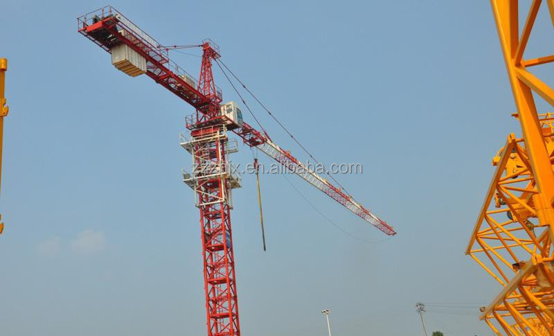 2015 Chinese10t Fixed Tower Crane with Joystick