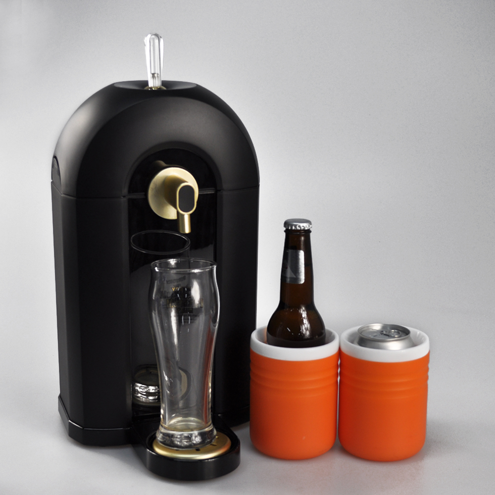 OEM/ODM service provided for beer dispenser machine new arrival ,suitable can/bottle beer ,party favor beer foamer equipment