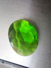 20.10 cts peridot quartz cut stone perfect oval cut loose gemstone #cut1176