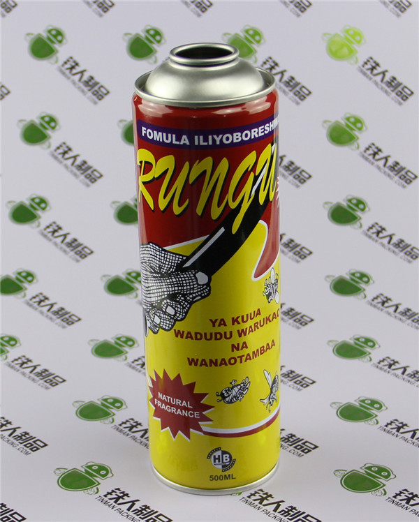 Spray Tin Packaging Liquid Product Containers