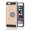 luxury TPU PC mobile phone case for iphone 6 6s Folding stand card case for apple 6 6s