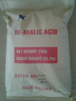 99% Top quality Healthy CAS 617-48-1 Powder Malic Acid DL-malic acid