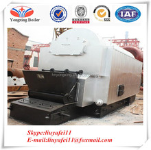 Various fuels can be used Steam output biomass steam boiler pellet saturated boiler / high pressure steam boiler feed water pump