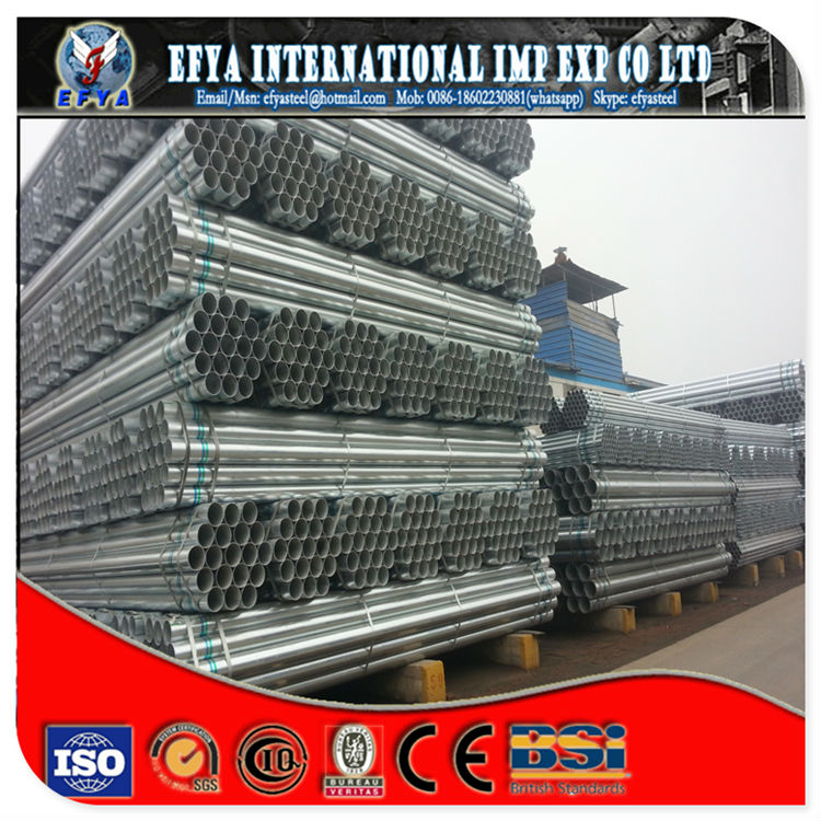 Galvanized steel tube ASTM A 53