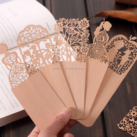 Korean Stationery Craft Through Carved Wooden Bookmark