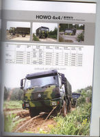 China Howo Tipper/All Wheel Drive Vehicle (ZZ2167M4627)military truck used 4x4