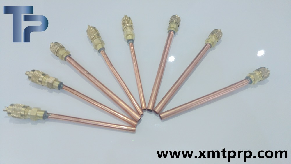 1/4 copper access valve for refrigeration spare parts
