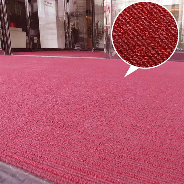 Wholesale polypropylene loop anti-slip anti-dust custom floor mat