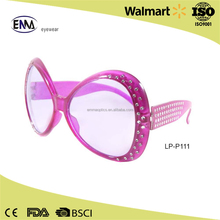 2017 New style best selling cheap stylish round party glasses