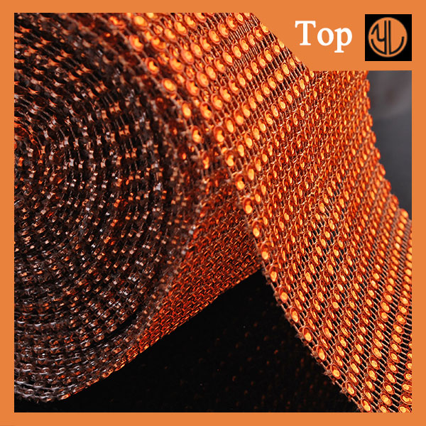 Diamond Mesh Trim for Garment Accessory Mesh Tulle trimming