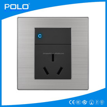 electric wall 1 way switch and 16A socket china ruian 220v