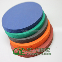 Buy Fabric Surface Sponge Silicone Rubber Pad