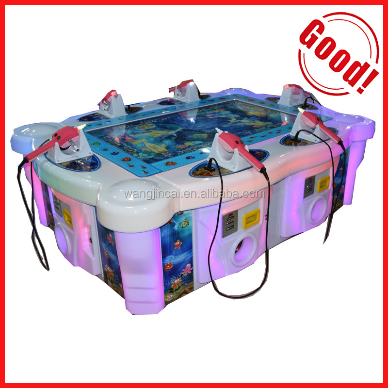 2016 popular go fishing game machine 6 players fishing arcade game machine