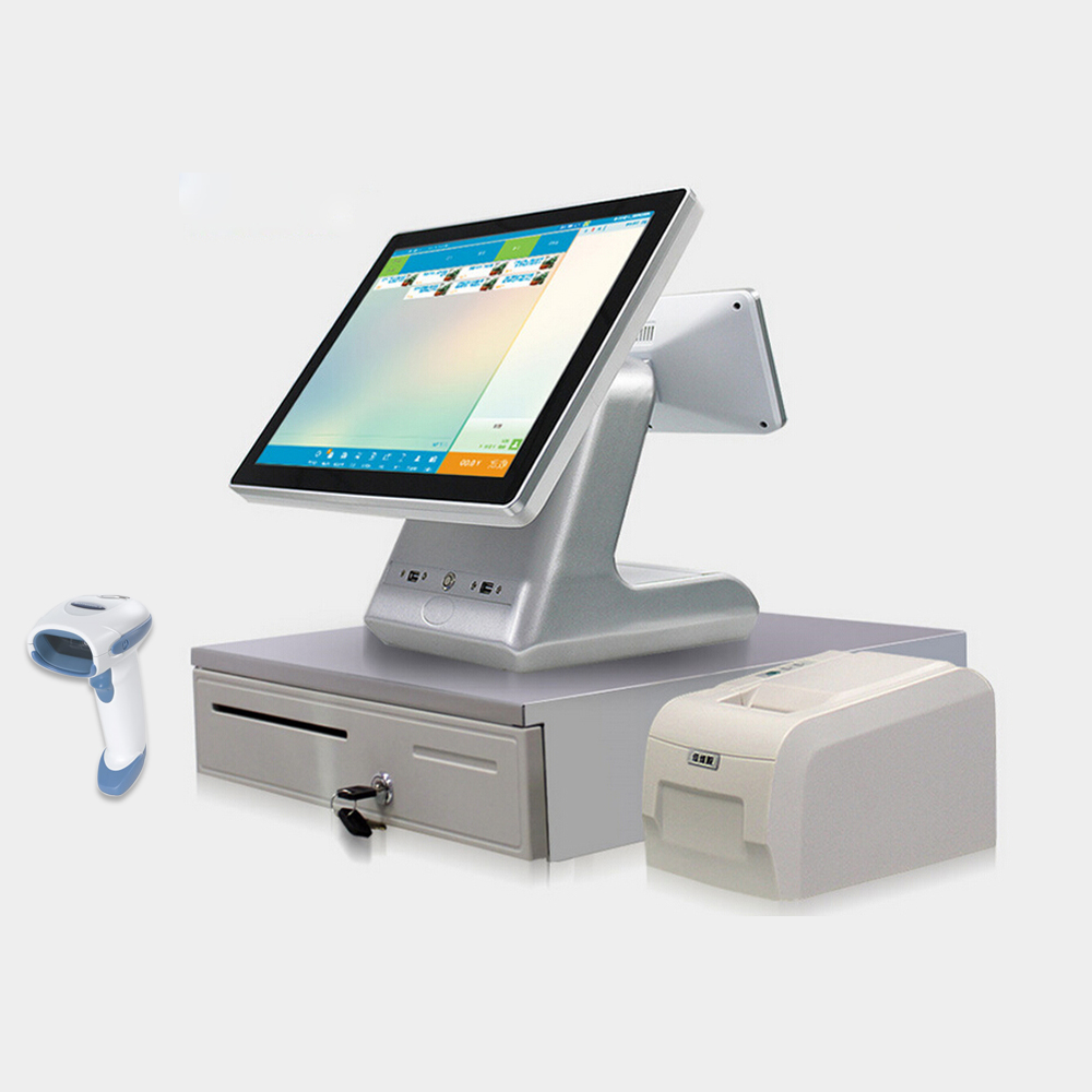 All in one POS Machine with POS software / POS 80mm printer thermal driver