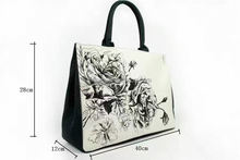 Factory sale super quality for sale art printed evening handlebag