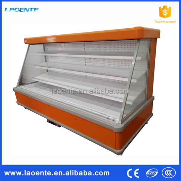Supermarket Remote Open Deck Multideck Chillers With Low Front