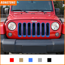 New Arrival ABS Auto Front Grille for Jeep Wrangler JK 07-16