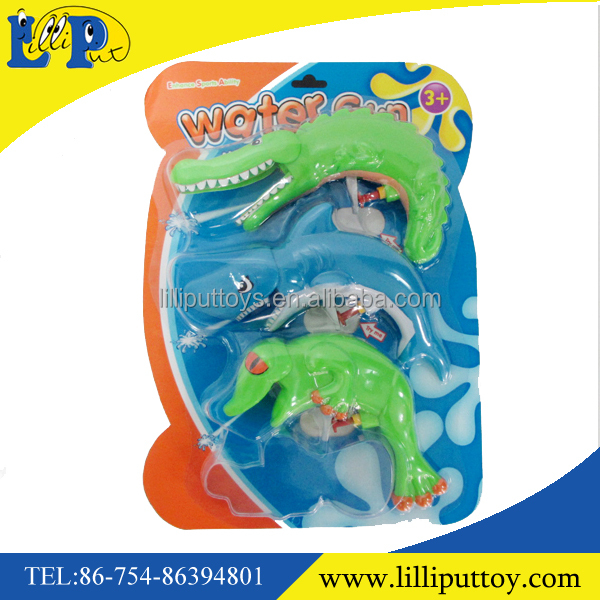 Funny different styles 3pcs cartoon water gun toy