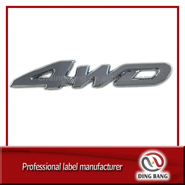 Manufacturing ABS Plastic Body Sticker Car Emblems